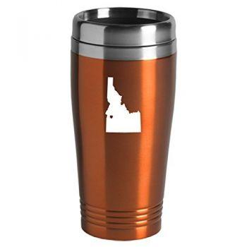 16 oz Stainless Steel Insulated Tumbler - I Heart Idaho - I Heart Idaho