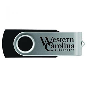 Western Carolina University -8GB 2.0 USB Flash Drive-Black