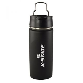 Kansas State University -20 oz. Travel Tumbler-Black