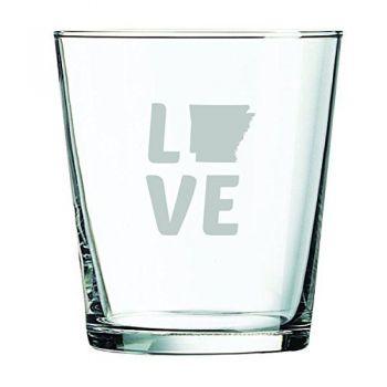 13 oz Cocktail Glass - Arkansas Love - Arkansas Love