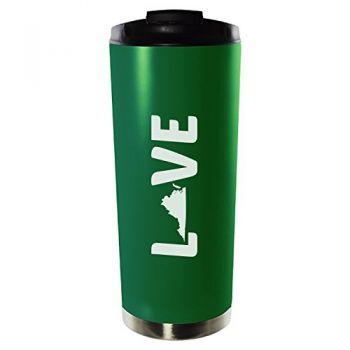 16 oz Vacuum Insulated Tumbler with Lid - Virginia Love - Virginia Love