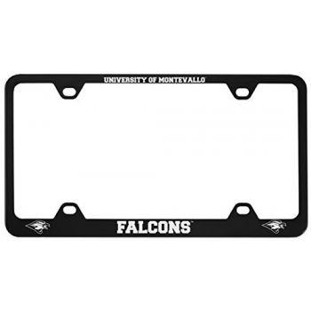 University of Montevallo-Metal License Plate Frame-Black