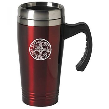 Iona College-16 oz. Stainless Steel Mug-Burgundy