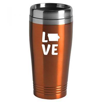 16 oz Stainless Steel Insulated Tumbler - Iowa Love - Iowa Love