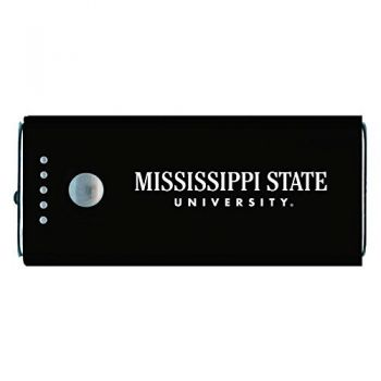 Mississippi State University -Portable Cell Phone 5200 mAh Power Bank Charger -Black