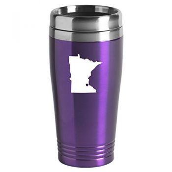 16 oz Stainless Steel Insulated Tumbler - I Heart Minnesota - I Heart Minnesota