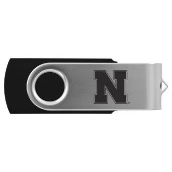 University of Nebraska-8GB 2.0 USB Flash Drive-Black