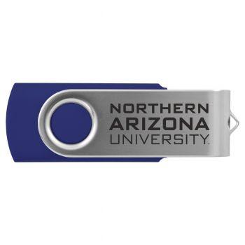 Northern Arizona University -8GB 2.0 USB Flash Drive-Blue
