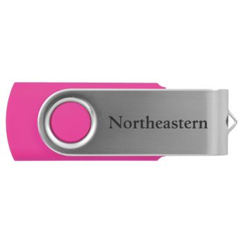 Northeastern University -8GB 2.0 USB Flash Drive-Pink