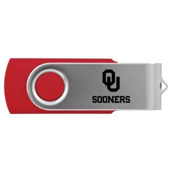 University of Oklahoma-8GB 2.0 USB Flash Drive-Red
