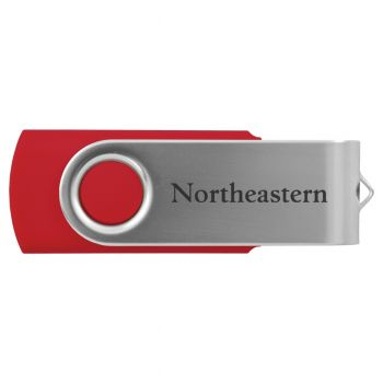 Northeastern University -8GB 2.0 USB Flash Drive-Red