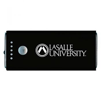La Salle State University -Portable Cell Phone 5200 mAh Power Bank Charger -Black