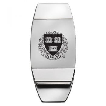 Harvard University - Two-Toned Money Clip