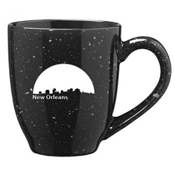 16 oz Ceramic Coffee Mug with Handle - New Orleans City Skyline