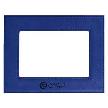 Stephen F. Austin State University-Velour Picture Frame 4x6-Blue
