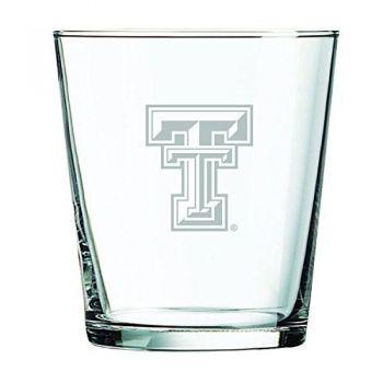 Texas Tech University -13 oz. Rocks Glass