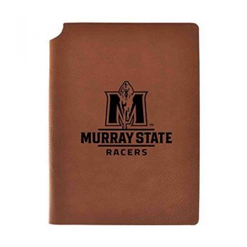 Murray State University Velour Journal with Pen Holder|Carbon Etched|Officially Licensed Collegiate Journal|