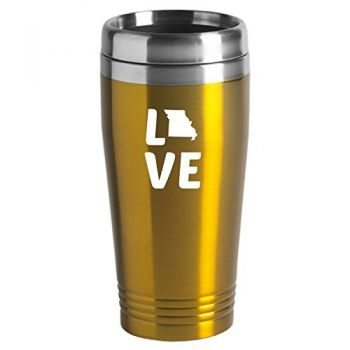 16 oz Stainless Steel Insulated Tumbler - Missouri Love - Missouri Love