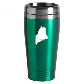 16 oz Stainless Steel Insulated Tumbler - I Heart Maine - I Heart Maine