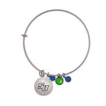 Stetson University-Frankie Tyler Charmed Bracelet