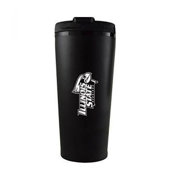 Illinois State University-16 oz. Travel Mug Tumbler-Black