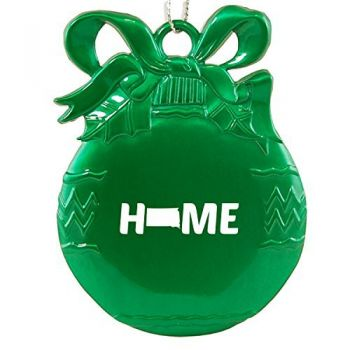 South Dakota-State Outline-Home-Christmas Tree Ornament-Green