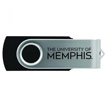 University of Memphis-8GB 2.0 USB Flash Drive-Black