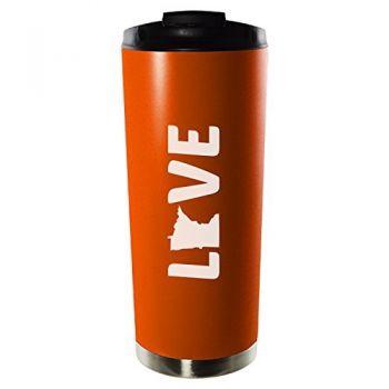 16 oz Vacuum Insulated Tumbler with Lid - Minnesota Love - Minnesota Love