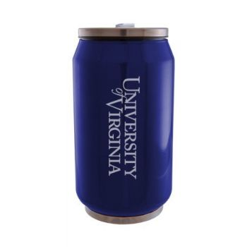 University of Virginia - Stainless Steel Tailgate Can - Blue