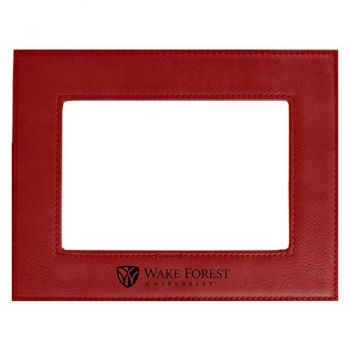 Wake Forest University-Velour Picture Frame 4x6-Red