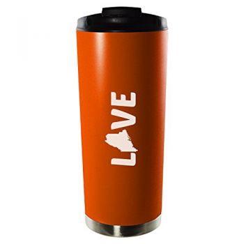 16 oz Vacuum Insulated Tumbler with Lid - Maine Love - Maine Love