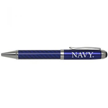 United States Naval Academy -Carbon Fiber Ballpoint Pen-Blue