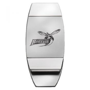 Delaware State University - Two-Toned Money Clip - Silver