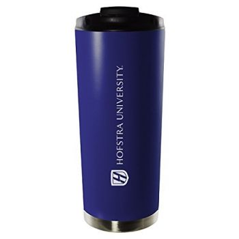 Hofstra University-16oz. Stainless Steel Vacuum Insulated Travel Mug Tumbler-Blue