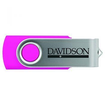 Davidson College-8GB 2.0 USB Flash Drive-Pink