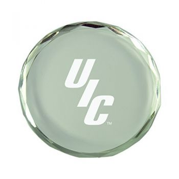 University of Illinois at Chicago-Crystal Paper Weight