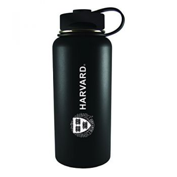 Harvard University -32 oz. Travel Tumbler-Black