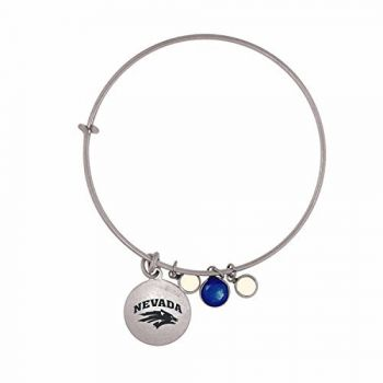 University of Nevada-Frankie Tyler Charmed Bracelet