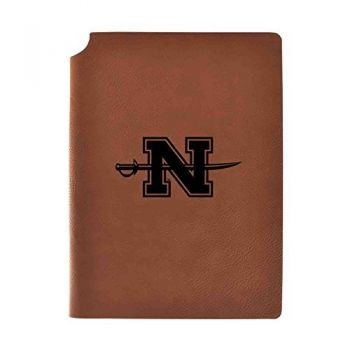 Nicholls State University Velour Journal with Pen Holder|Carbon Etched|Officially Licensed Collegiate Journal|