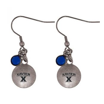 Xavier University-Frankie Tyler Charmed Earrings
