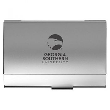 Georgia Southern University - Pocket Business Card Holder