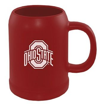 Ohio State University -22 oz. Ceramic Stein Coffee Mug-Red