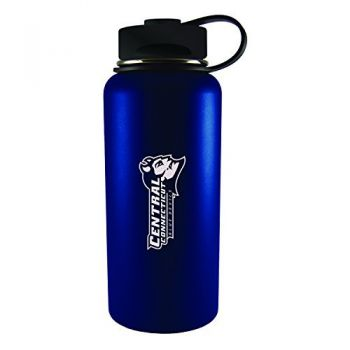 Central Connecticut University-32 oz. Travel Tumbler-Blue