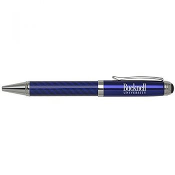 Bucknell University -Carbon Fiber Ballpoint Pen-Blue