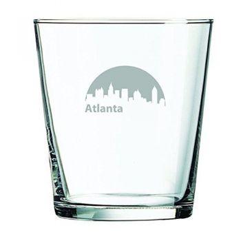 13 oz Cocktail Glass - Atlanta City Skyline