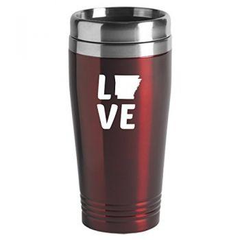 16 oz Stainless Steel Insulated Tumbler - Arkansas Love - Arkansas Love