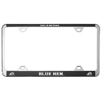 University of Delaware -Metal License Plate Frame-Black
