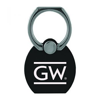 George Washington University |Multi-Functional Phone Stand Tech Ring|Black
