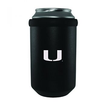University of Miami -Ultimate Tailgate Can Cooler-Black