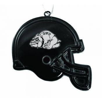 Gardner-Webb University - Christmas Holiday Football Helmet Ornament - Black